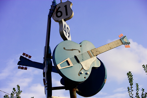 Rock Music「Crossroads of Route 49 and 61, Clarksdale」:スマホ壁紙(1)
