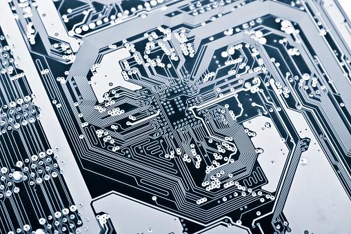 Computer Chip「High Tech」:スマホ壁紙(2)