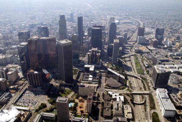 Downtown District「Aerials of Los Angeles」:写真・画像(6)[壁紙.com]