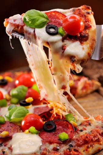 Stretching「Pizza」:スマホ壁紙(12)