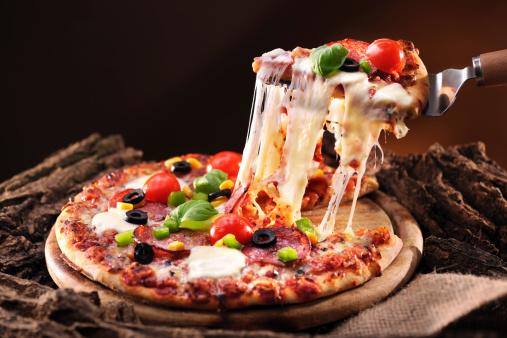 Stretching「Pizza」:スマホ壁紙(17)