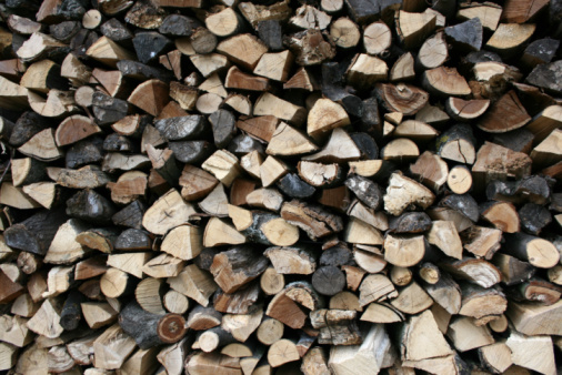 Log「Stack of wood, full frame」:スマホ壁紙(9)