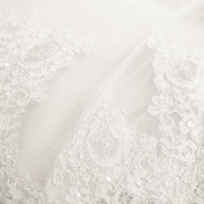Females「Close up lace detail, wedding dress pattern」:スマホ壁紙(16)