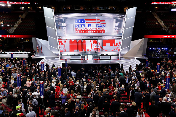 Cleveland - Ohio「Republican National Convention: Day One」:写真・画像(19)[壁紙.com]