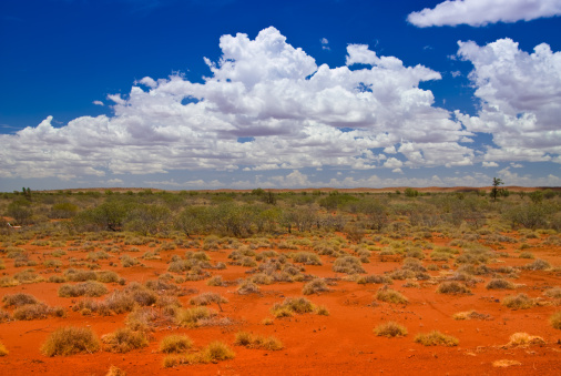 Western Australia「Outback Landscape with hills」:スマホ壁紙(15)