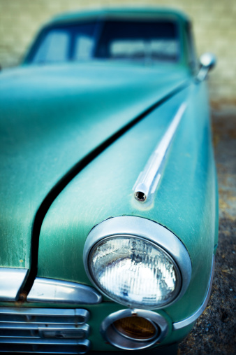Hot Rod Car「front end of a classic car」:スマホ壁紙(10)
