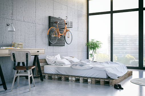 Messy「Loft Bedroom」:スマホ壁紙(11)