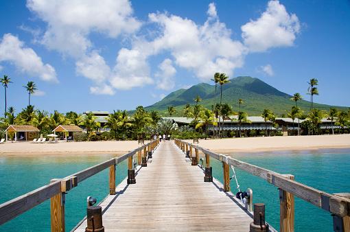 Volcanic Landscape「Pinneys Beach Nevis Caribbean」:スマホ壁紙(8)
