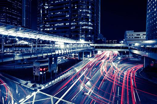 Internet of Things「Hong Kong night city」:スマホ壁紙(9)