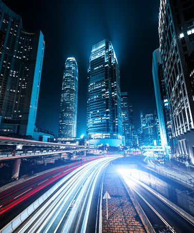 Internet of Things「Hong Kong night city」:スマホ壁紙(10)
