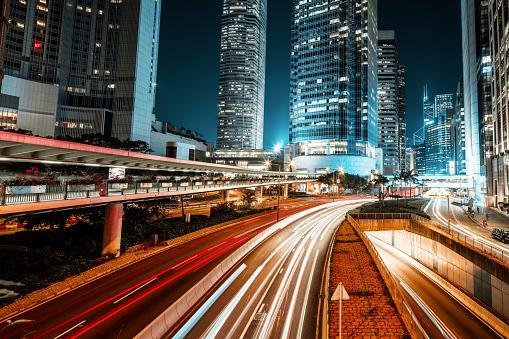 Internet of Things「Hong Kong night city」:スマホ壁紙(2)