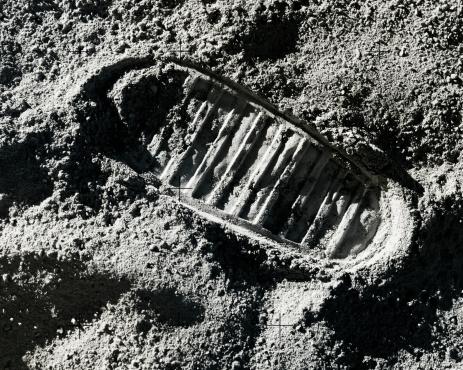 Moon「Footprint on Moon」:スマホ壁紙(8)