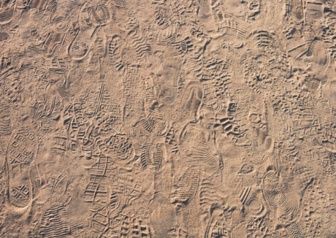 Identity「Footprint on sand (full frame)」:スマホ壁紙(11)