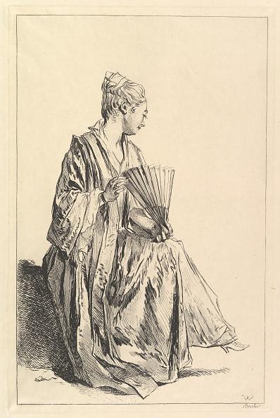 Etching「Femme Assise」:写真・画像(18)[壁紙.com]