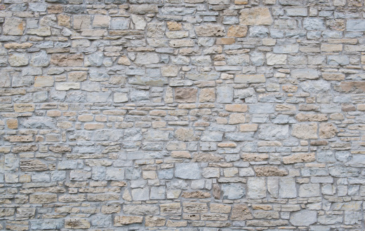 Limestone「Wide shot of a plain limestone wall」:スマホ壁紙(15)