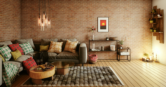 Romance「Cozy Living Room」:スマホ壁紙(1)