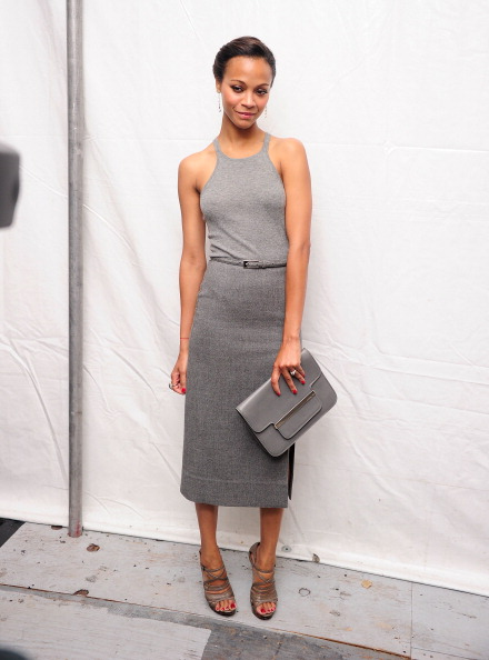 Gray Skirt「Seen Around Lincoln Center - Day 7 - Spring 2012 Mercedes-Benz Fashion Week」:写真・画像(14)[壁紙.com]