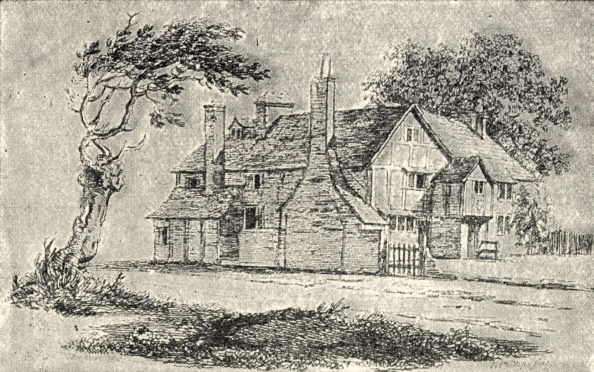 Giles「John Milton - drawing of his cottage at Chalfont St. Giles」:写真・画像(16)[壁紙.com]