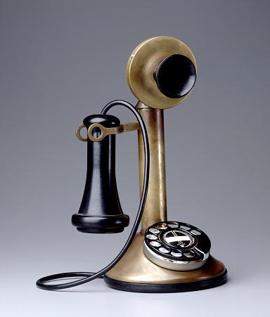 The Past「old telephone」:スマホ壁紙(15)