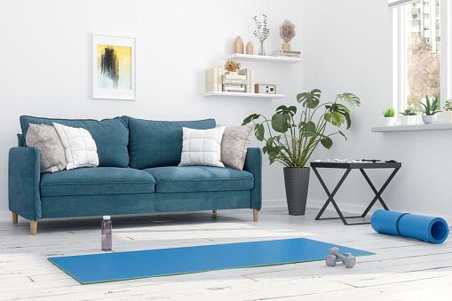 Pilates「Exercises at Home」:スマホ壁紙(4)