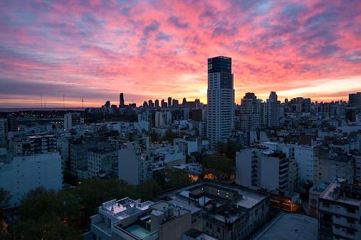 Buenos Aires「Sunrise over Palermo Soho」:スマホ壁紙(0)