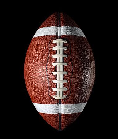 Mid-Atlantic - USA「Football on black」:スマホ壁紙(14)