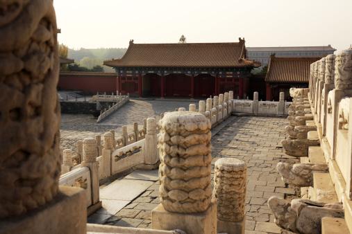Alabaster「Carved alabaster railings in Forbidden City」:スマホ壁紙(12)