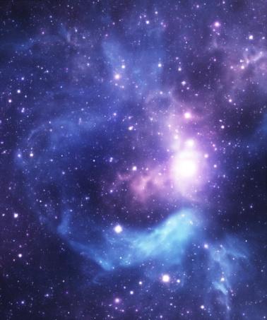 Nebula「Blue starfield background」:スマホ壁紙(16)