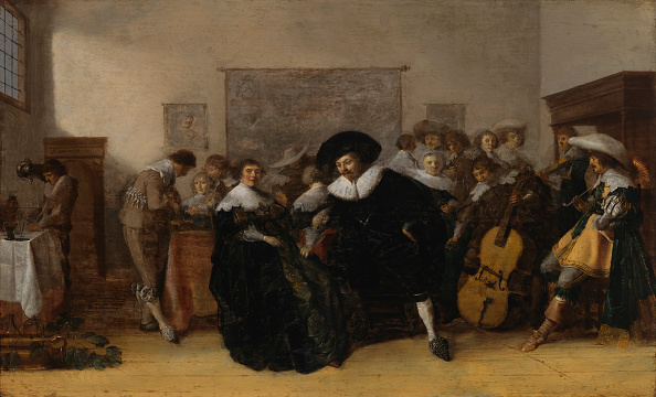 Baroque Style「A Musical Company」:写真・画像(5)[壁紙.com]
