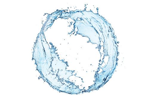 Swirl Pattern「Water splash circle」:スマホ壁紙(12)