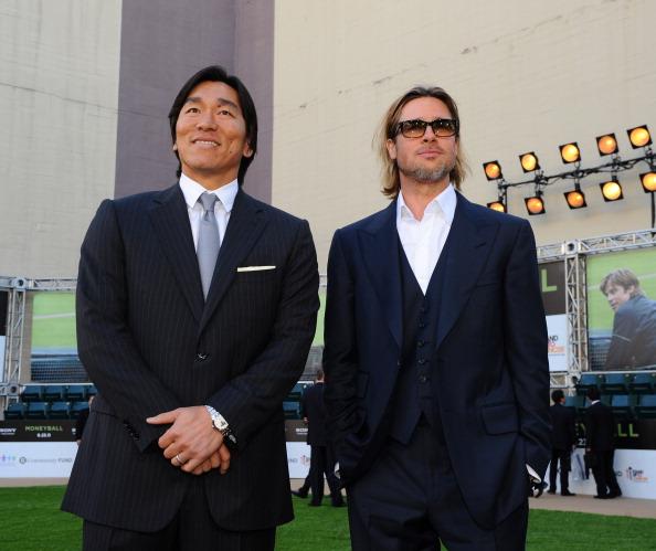"Hideki Matsui「Premiere Of Columbia Pictures' ""Moneyball"" - Red Carpet」:写真・画像(9)[壁紙.com]"