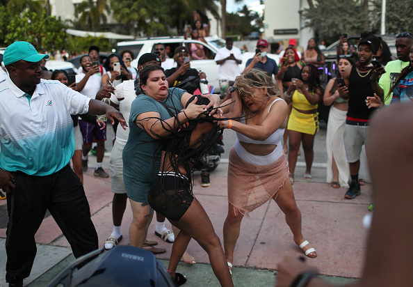 Miami「Florida Grapples With Influx Of Spring Break Tourists」:写真・画像(3)[壁紙.com]