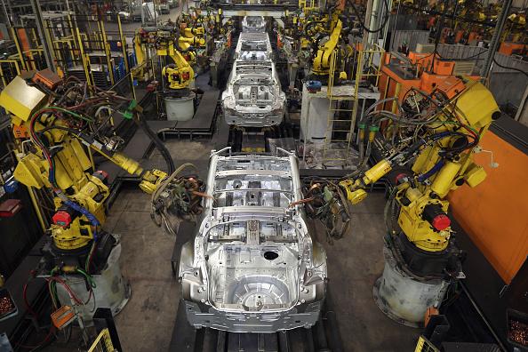 Industry「Nissan's Car Manufacturing Plant In Sunderland」:写真・画像(7)[壁紙.com]