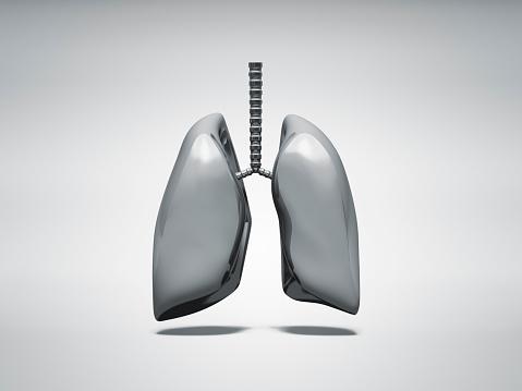 Human Internal Organ「Normal metal lung」:スマホ壁紙(11)