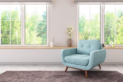 Old-fashioned「Armchair with Windows」:スマホ壁紙(10)