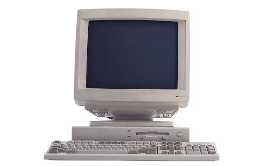 1990-1999「Computer monitor and keyboard」:スマホ壁紙(14)