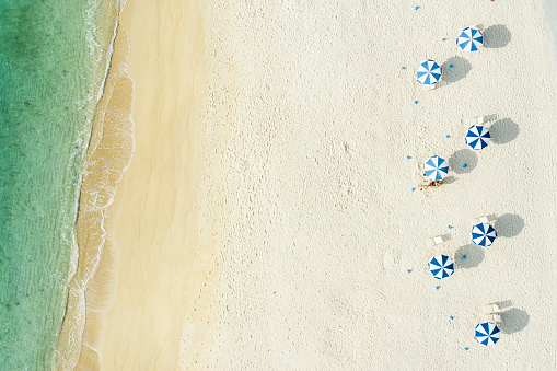 Satoyama - Scenery「People who relax on a beautiful sea and beach」:スマホ壁紙(8)