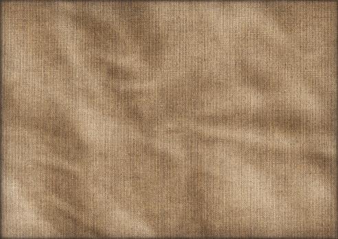 Linen「Hi-Res Antique Artist Linen Duck Canvas Crumpled Vignette Grunge Texture」:スマホ壁紙(18)