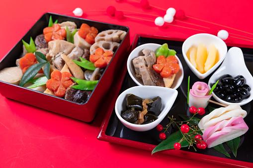 おせち「おけちと呼ばれる和風の新年の食事」:スマホ壁紙(17)