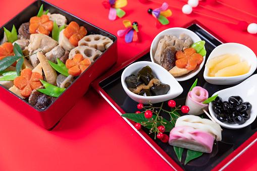 おせち「おけちと呼ばれる和風の新年の食事」:スマホ壁紙(11)