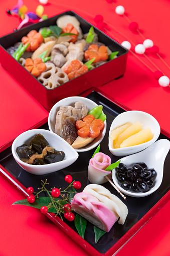 おせち「おけちと呼ばれる和風の新年の食事」:スマホ壁紙(16)
