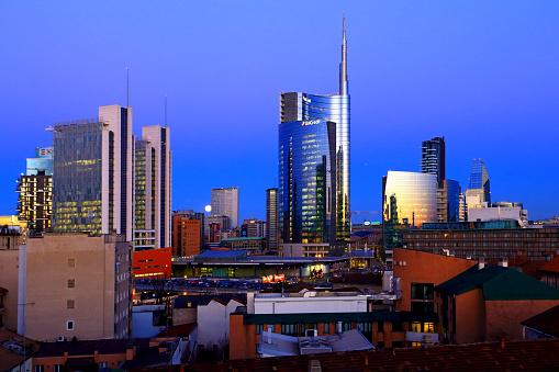 Lombardy「Milano new skyline view」:スマホ壁紙(18)