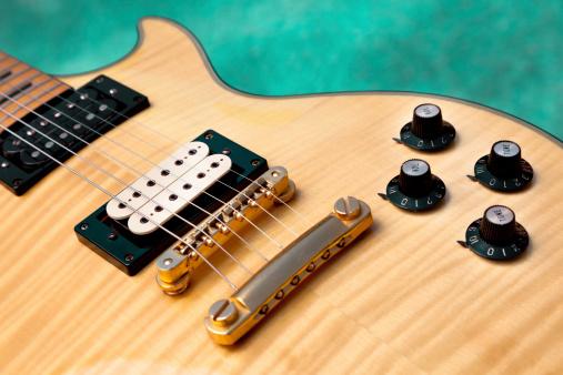 Rock Music「Vintage Natural Guitar」:スマホ壁紙(17)