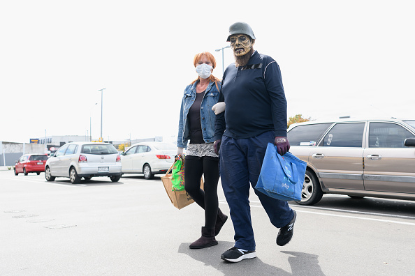Parking Lot「New Zealand In Lockdown As State Of National Emergency Comes Into Effect Amid Coronavirus Pandemic」:写真・画像(13)[壁紙.com]