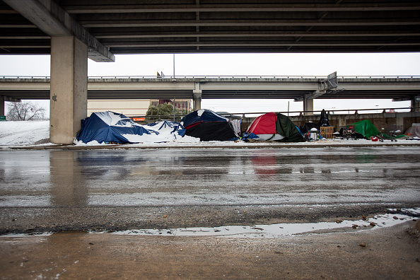 Homelessness「Texas Struggles With Unprecedented Cold And Power Outages」:写真・画像(0)[壁紙.com]
