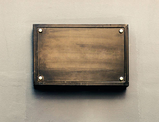 Blank metal plaque:スマホ壁紙(壁紙.com)