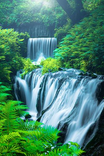 River「Waterfall in Karuizawa, Japan」:スマホ壁紙(1)