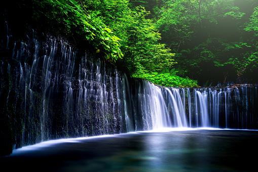 Eco Tourism「Waterfall in Karuizawa, Japan」:スマホ壁紙(15)