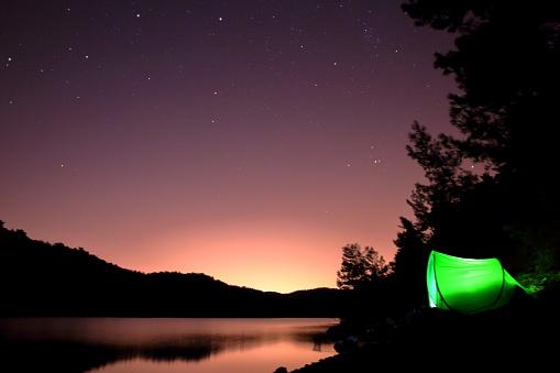 Below「Tent under the starry sky in Forest」:スマホ壁紙(16)