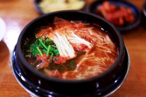 Pollock - Fish「Walleye pollack&kimchi pot,korea food」:スマホ壁紙(7)